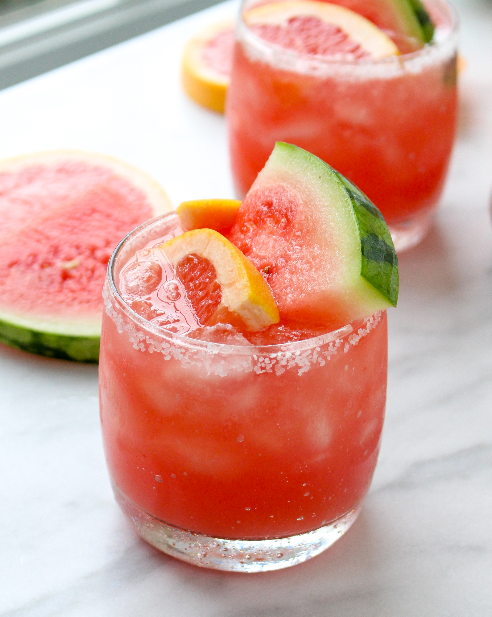 Watermelon Salty Dogs