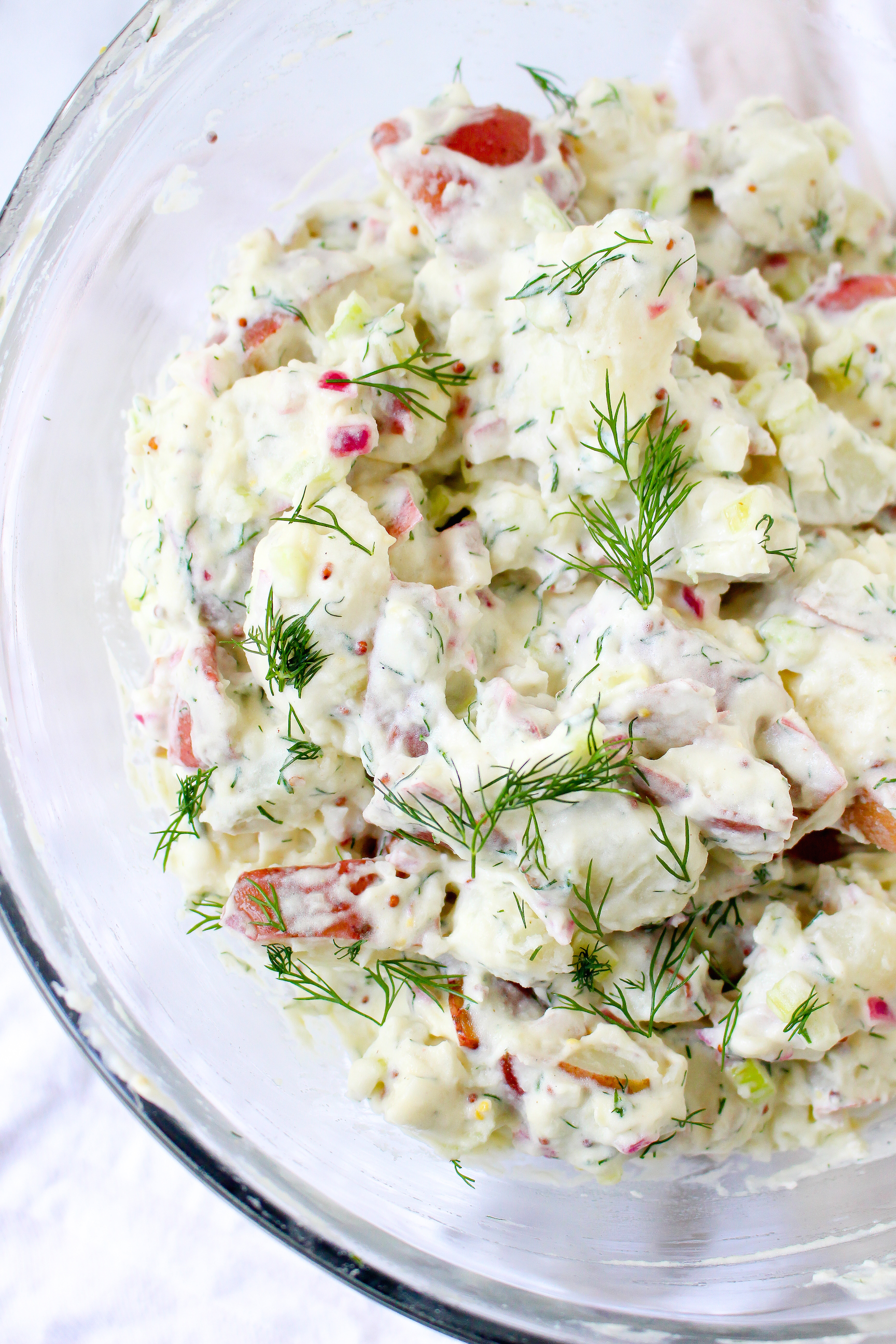 Potato Salad with Dill & Mustard Dressing