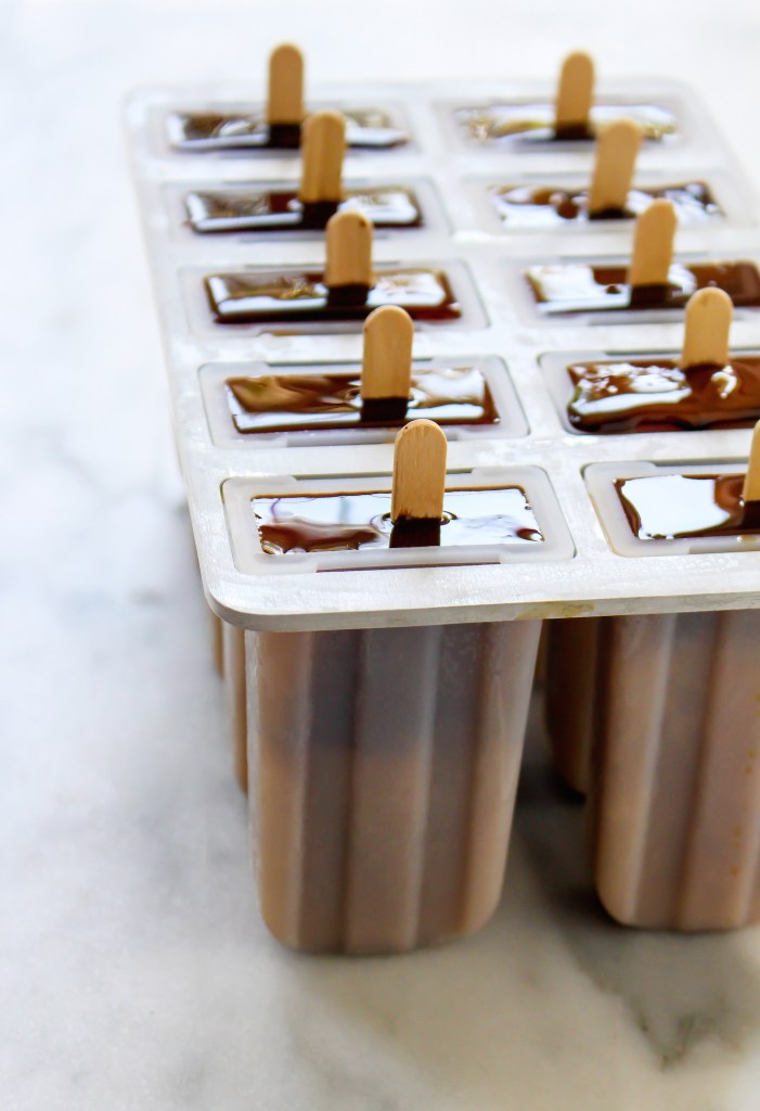 Creamy Cold Brew Popsicles