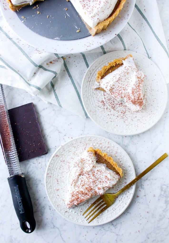 Espresso Vanilla Cream Tart