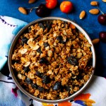 Low-Fat Cherry Almond Granola