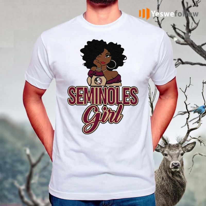Black-Girl-Florida-State-Seminoles-TShirts