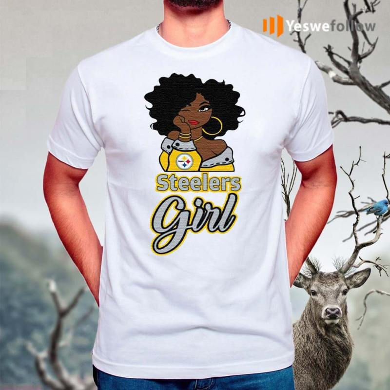 Black-Girl-Pittsburgh-Steelers-Shirt