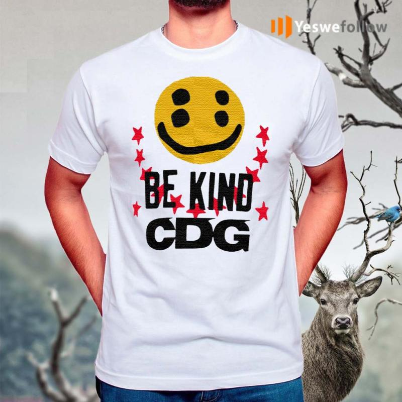 CDG-Be-Kind-T-Shirts
