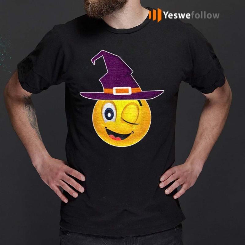 Cute-Emoji-Face-Funny-Yellow-Group-Halloween-Costume-shirt