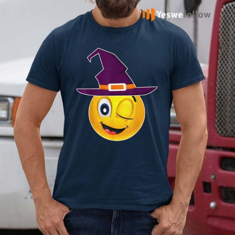 Cute-Emoji-Face-Funny-Yellow-Group-Halloween-Costume-shirts