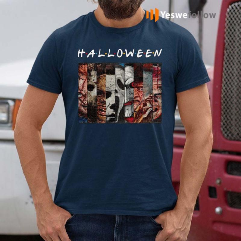 FRIENDS-Halloween-Horror-Movies-Killers-T-Shirt