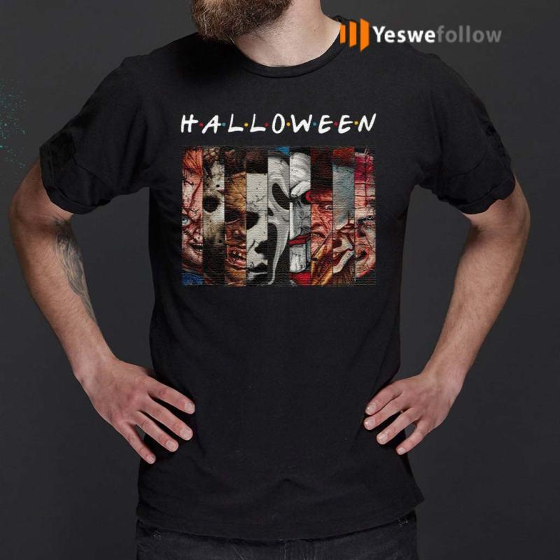 FRIENDS-Halloween-Horror-Movies-Killers-T-Shirts
