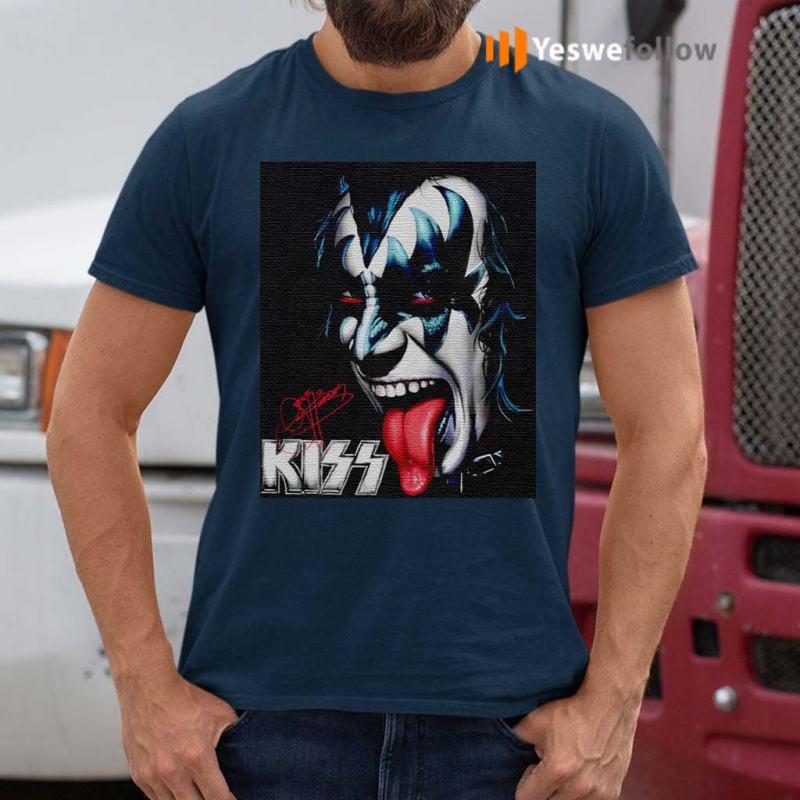 Gene-The-Demon-Simmons-Kiss-Signature-Shirt