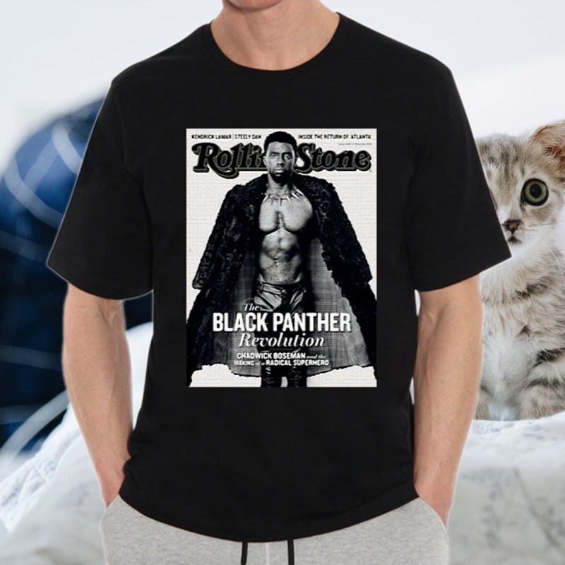 Rolling stone the black panther revolution making of a radical superhero T-Shirt
