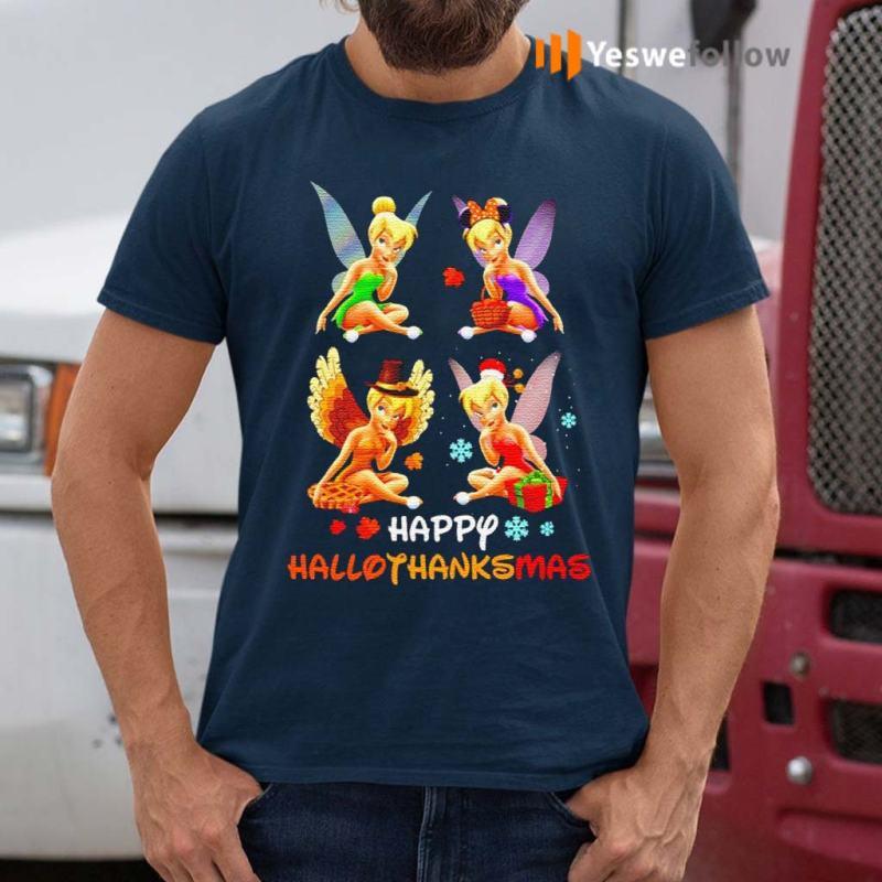 Tinkerbell-Happy-Hallothanksmas-shirt