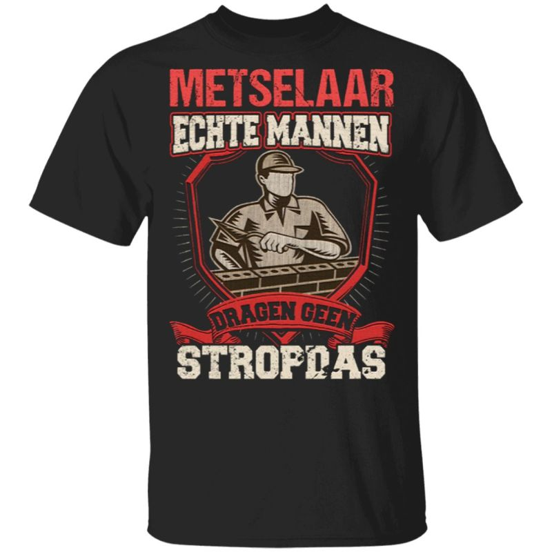 men sv neck T-shirt