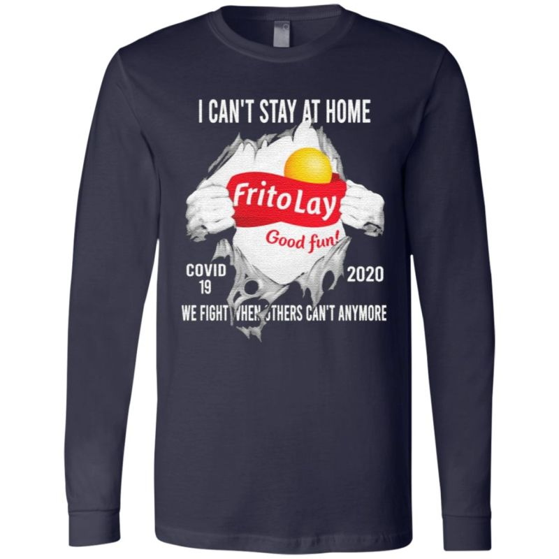 Blood inside me Frito Lay virus corona 2020 we fight when others can't anymore t shirt
