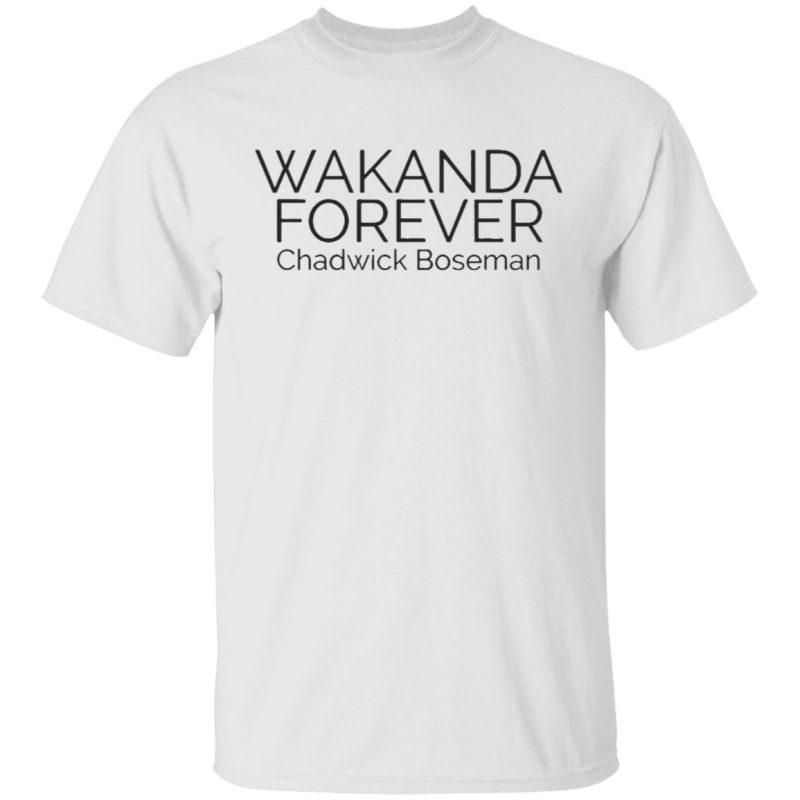 Wakanda Forever R.I.P Chadwick Boseman T-Shirt