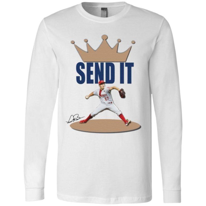 Trevor Bauer send it t shirt