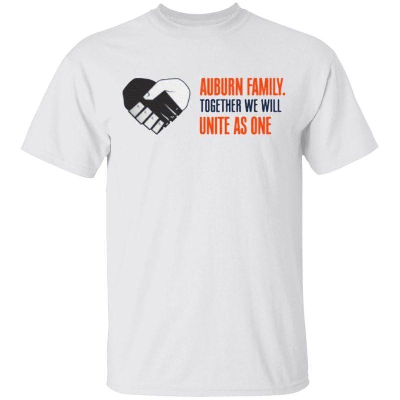 Together We Will Auburn Tigers Unity TShirt