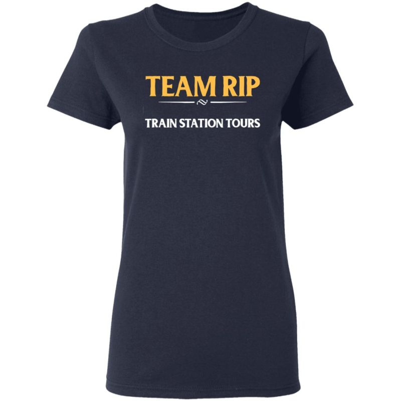 Team Rip Train Station Tours Yellowstone T-Shirt