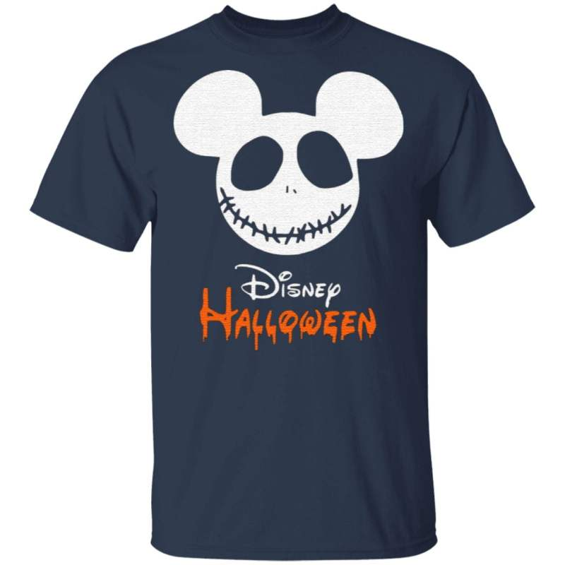 Disney Logo Mickey Mouse Halloween T-Shirt