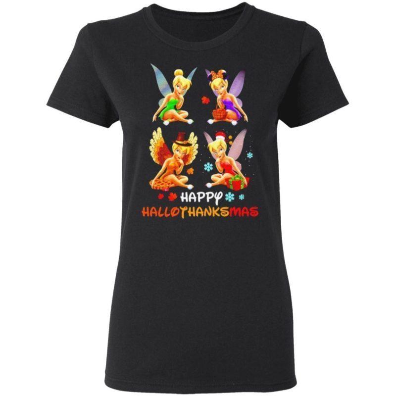 Tinkerbell Happy Hallothanksmas t shirt