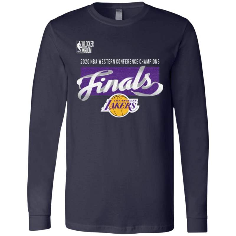 Los Angeles Lakers 2020 Western Conference Champions Locker Room T-Shirt