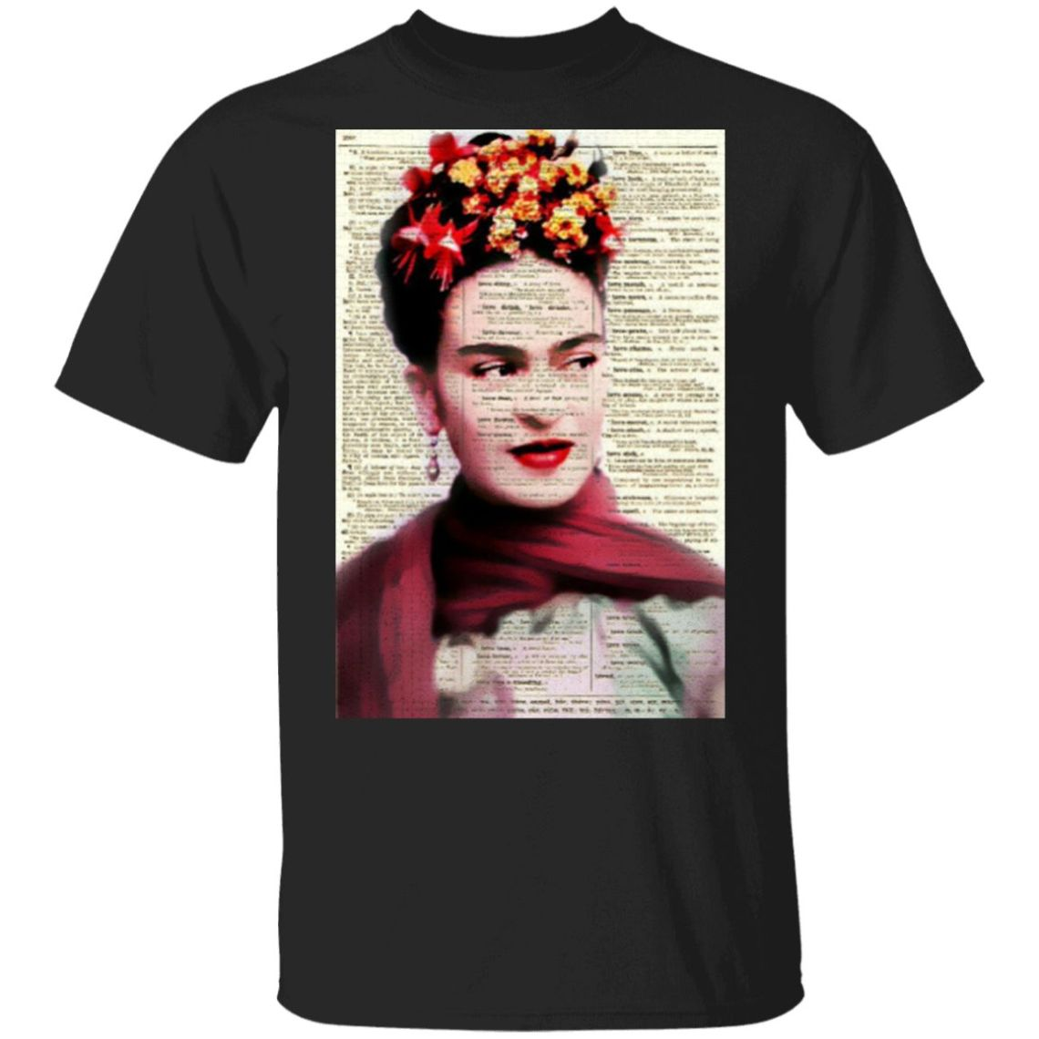 Frida Quotes Love Mexican Lottery T-Shirt