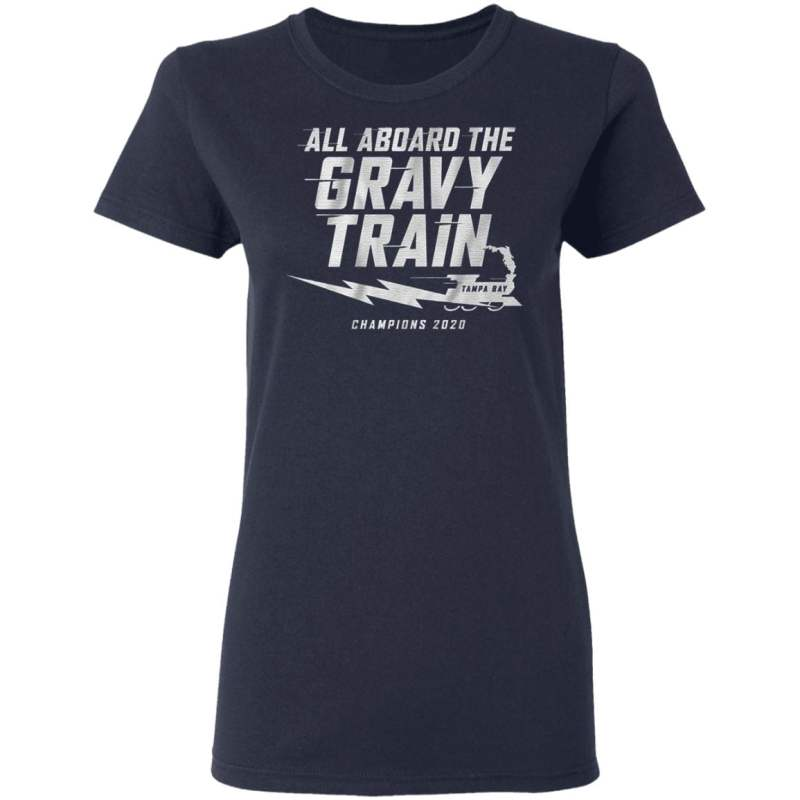 All aboard the Gravy Train Champions 2020 T Shirt