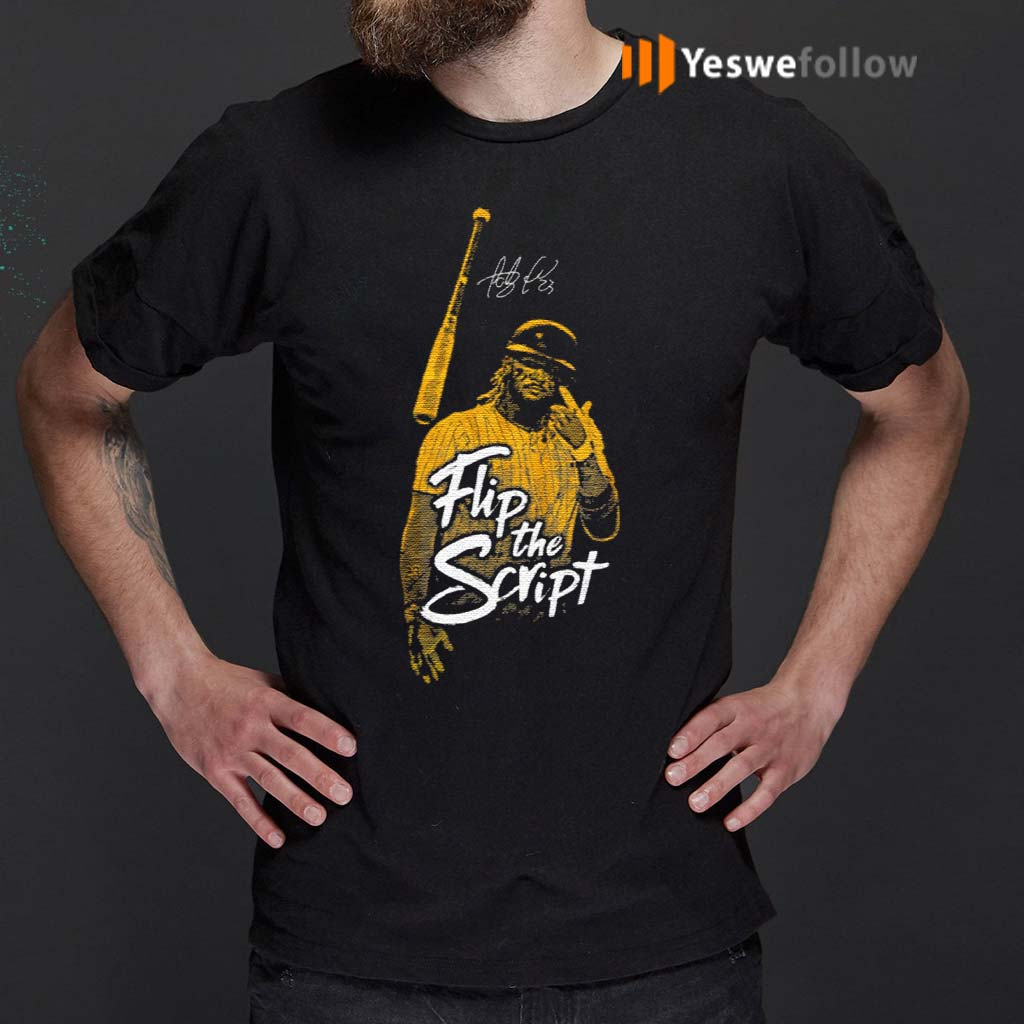 Fernando-Tatís-Jr-Flip-The-Script-Shirt