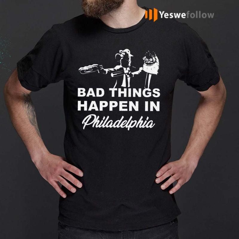 Gritty-bad-things-happen-in-philadelphia-shirt
