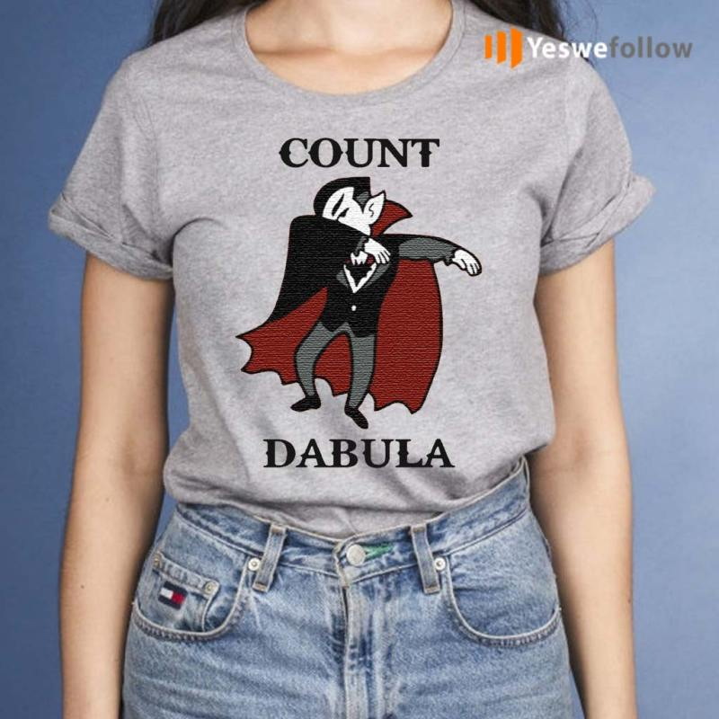 Halloween-Count-Dabula-Dab-Shirt