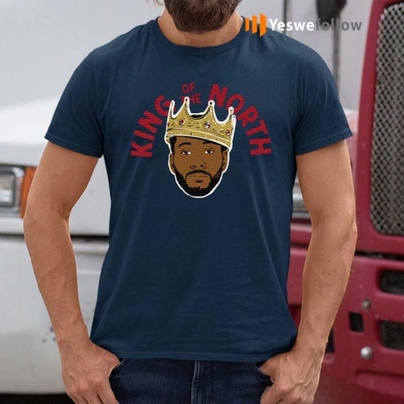Kawhi-Leonard-King-Of-The-North-Toronto-Raptors-T-Shirt