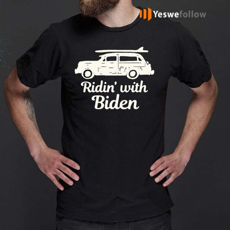 Ridin-with-biden-t-shirts