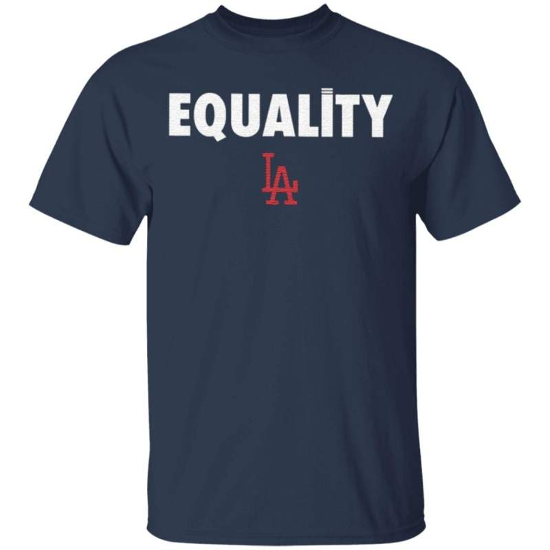 Equality Dodgers T Shirt