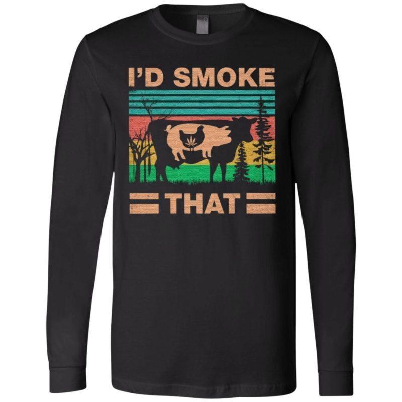 ID Smoke That T Shirt