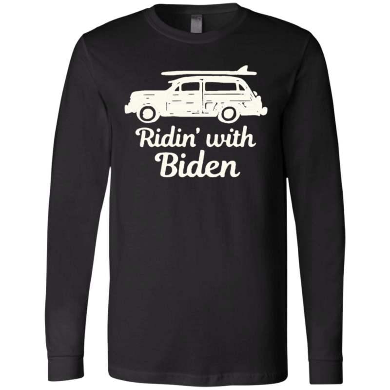Ridin with biden t shirt