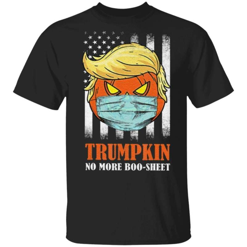 Trumpkin Halloween No More Boo Sheet T Shirt