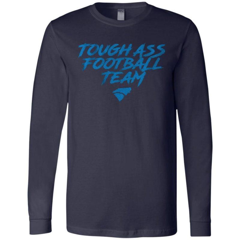 tough ass football team t shirt