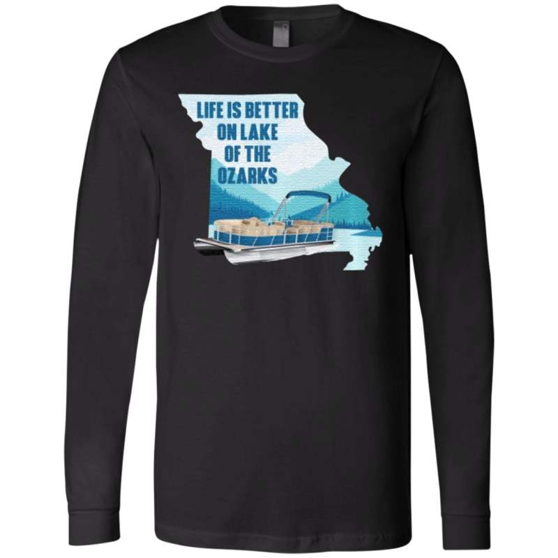 Life Is Better On Lake Of The Ozarks T Shirt
