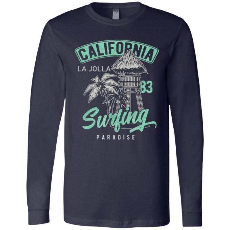 La Jolla Vintage Retro 70S 80S T Shirt