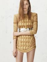 Mi vestido favorito. Dorado. Balmain Resort 2013