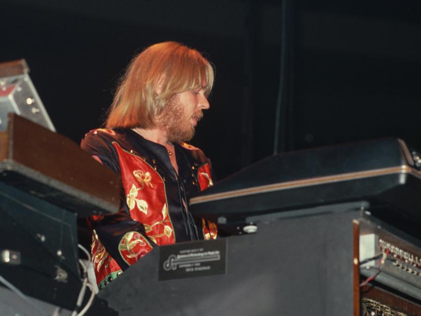 Yes Keyboardist in Concert
