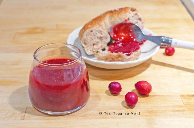 cranberry apple jam recipe easy