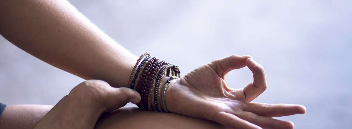 sit meditation with mudra
