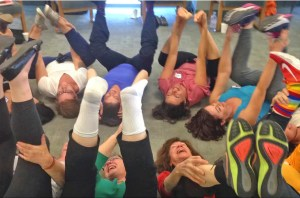 laughter yoga women's circle
