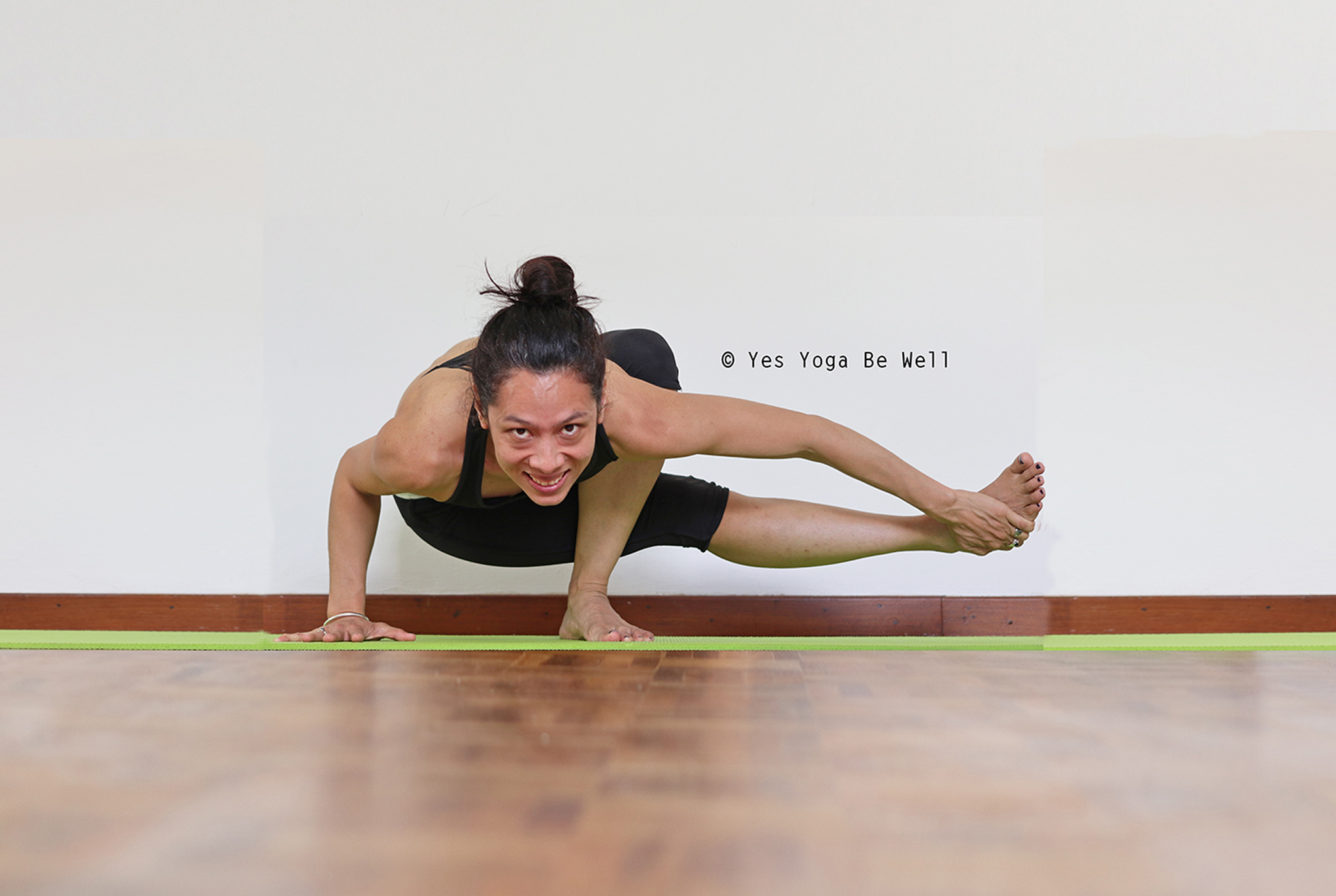 Welcome Spring with BABY GRASSHOPPER POSE! - Yes Yoga Be Well