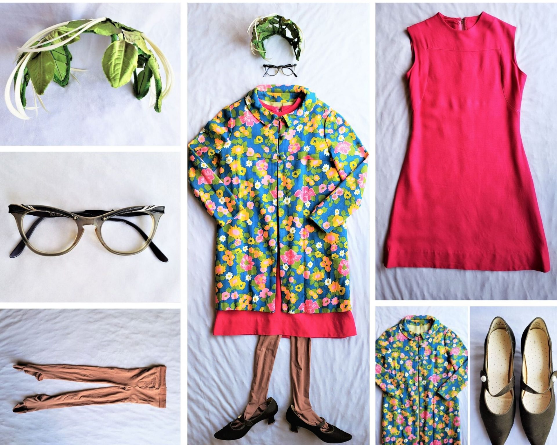 1960s Mom Outfit Collage