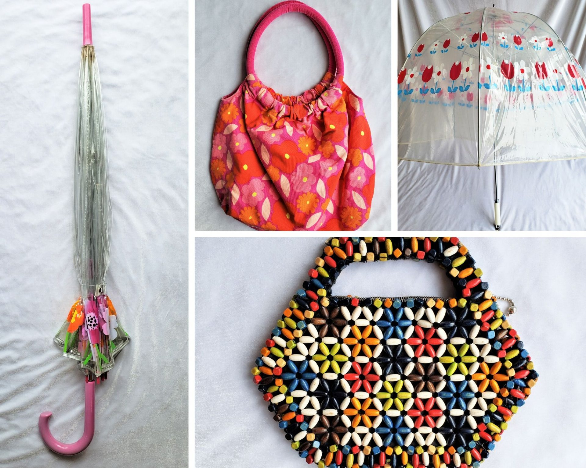 1960s Purse and Umbrella Collage 2