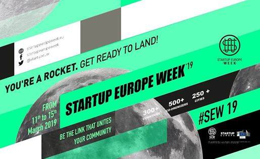 SEW19 – Startup Europe Week 19 Thessaloniki Closing Event – Start Right, Start Early, Start Up