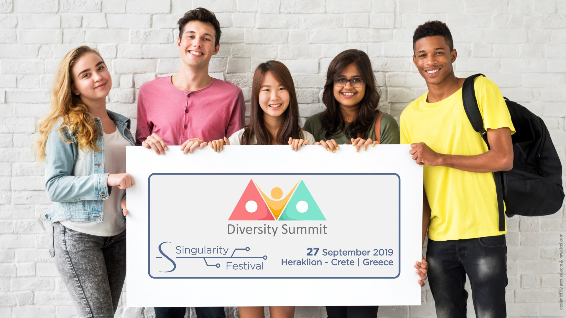 Singularity Festival Week (SFW19) – Diversity Summit – Heraklion, Crete
