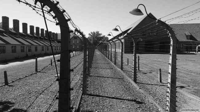 """Le """"lager"""" d'Auschwitz"""