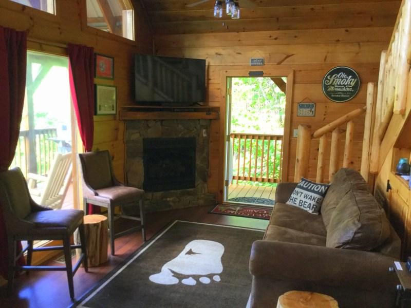 Living Room at Yeti Peak.